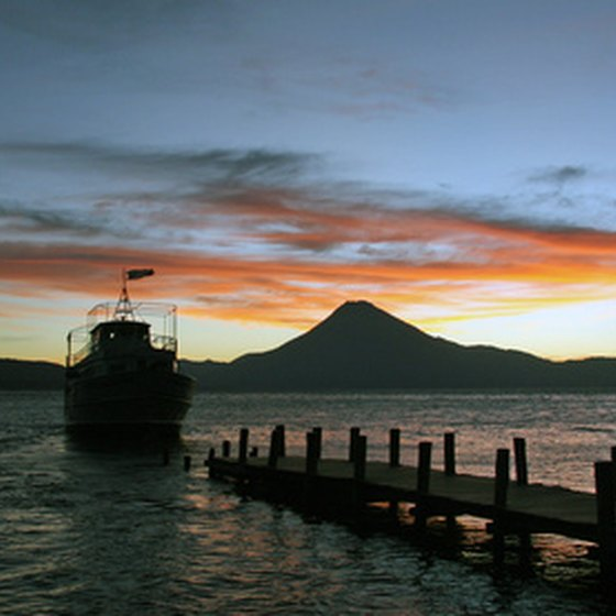 Lake Atitlan in Guatemala is a budget traveler's paradise.