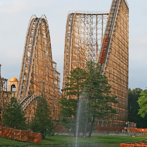 Busch Gardens, an animal park and amusement park, is a popular Tampa attraction.