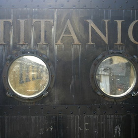 You can even experience the Titanic in Orlando.