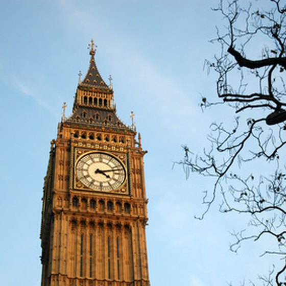 Big Ben is a popular tourist attraction in London.