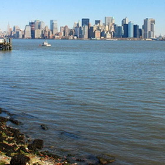 A view of New York City from Piermont