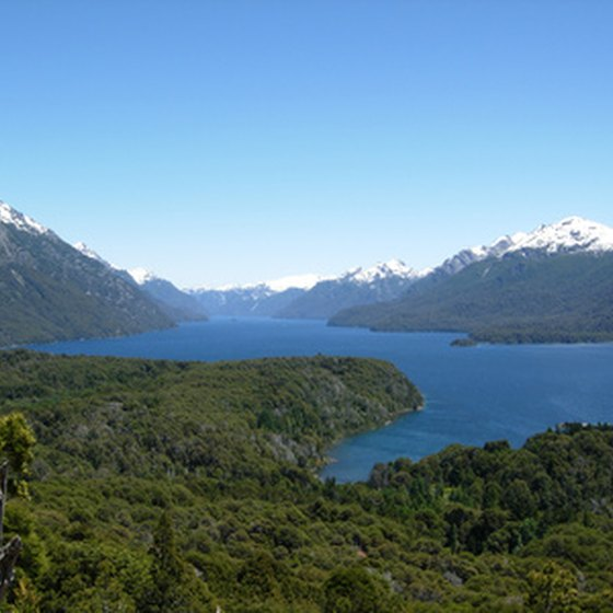 Bariloche's snowy peaks and clear lakes create the perfect alpine setting.