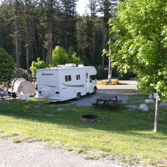 RV parks are numerous throughout the country.
