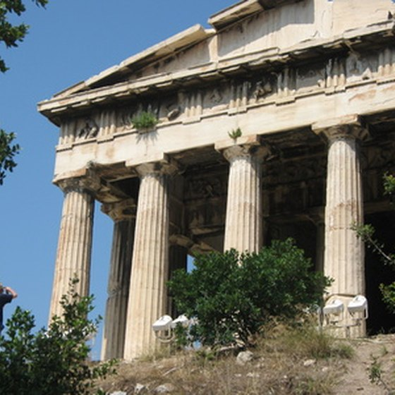 The Acropolis is a top destination in Athens.