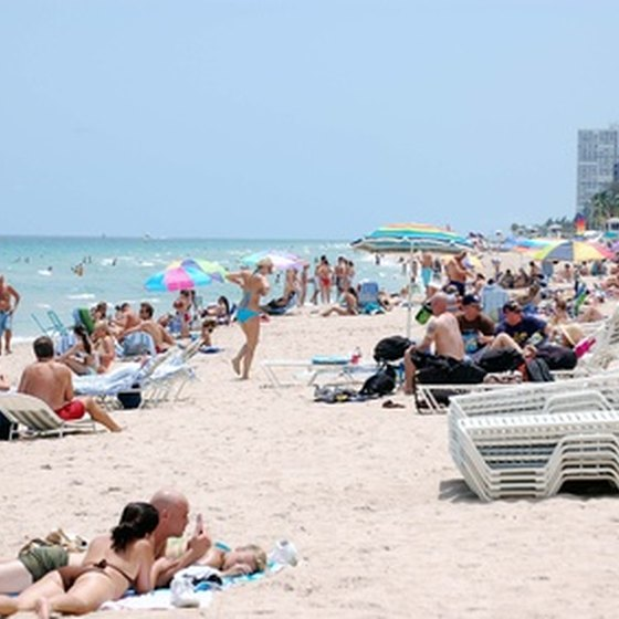 Escape from winter woes with a beach vacation in Fort Lauderdale.
