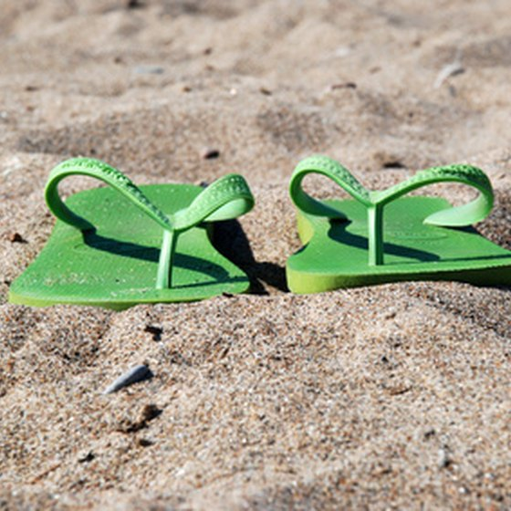 Flip-flops will make your shore trip more comfortable.