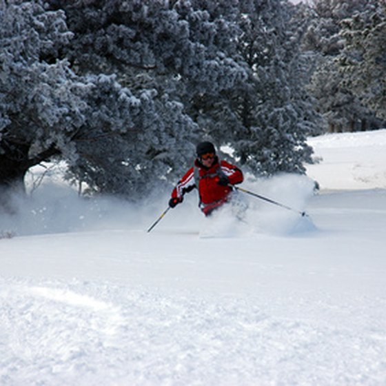 The Pocono Mountains offers convenient skiing.