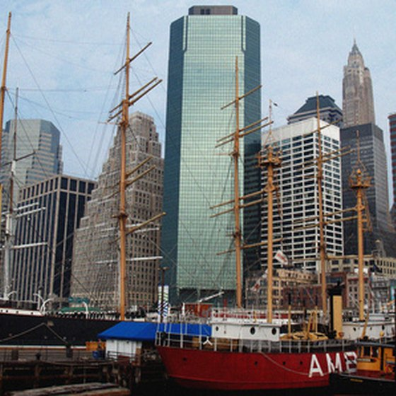 Passengers can visit Baltimore's Inner Harbor before or after departing on a cruise.
