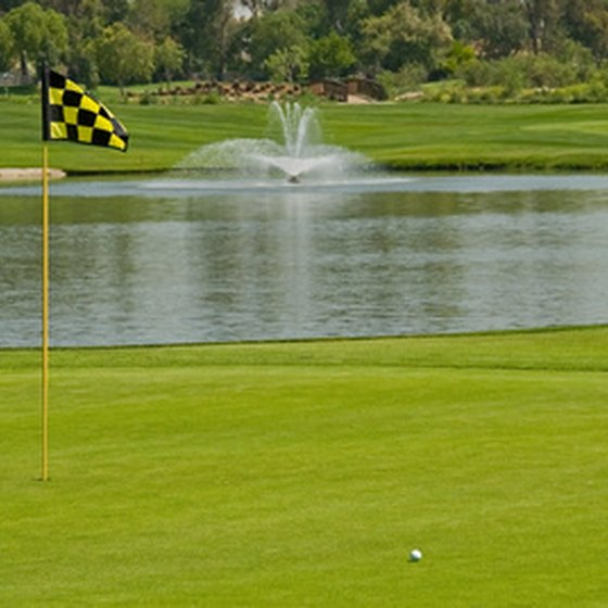 Florida's private courses host several PGA tournaments each year.