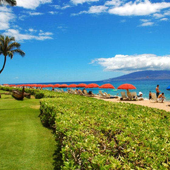 Maui resorts offer day and night time leisure and recreational activities.