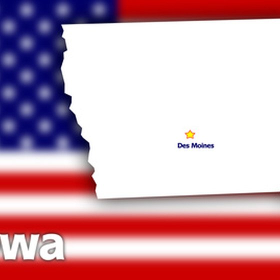 Des Moines is in south-central Iowa.
