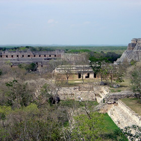 Uxmal is one of Mexico's most famous Mayan archaeological sites