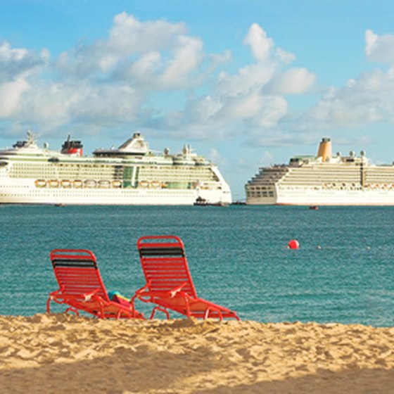 Cruise to the Bahamas on a luxury liner.