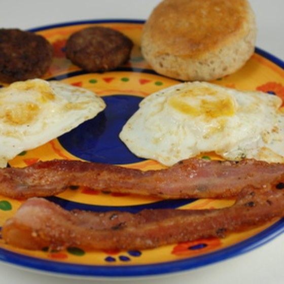 "The ""breakfast"" component of a bed-and-breakfast can provide a sunny start to your day,"