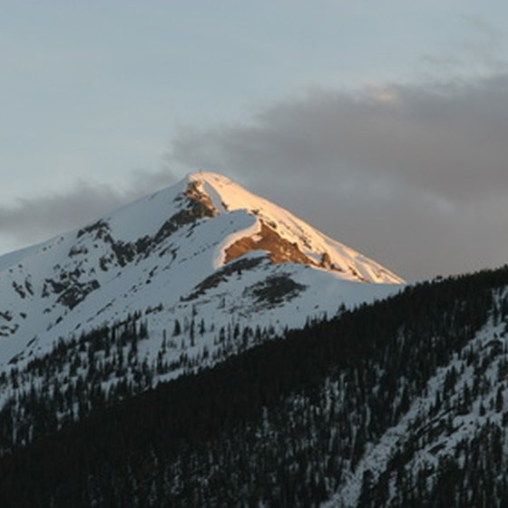 The peaks of Breckenridge await.
