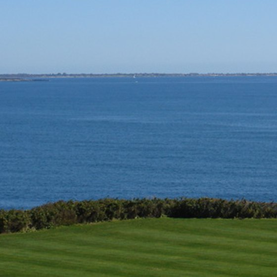 Rhode Island's abundant coastline serves as the backdrop to most of its family resorts.