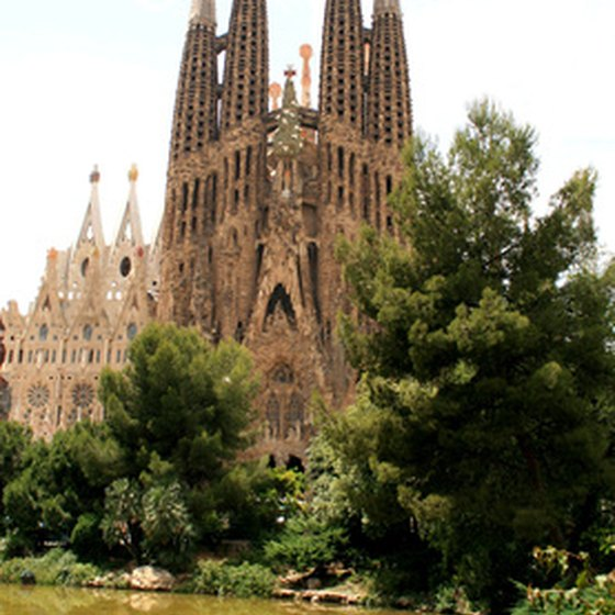 Enjoy the sites of the beautiful city of Barcelona.
