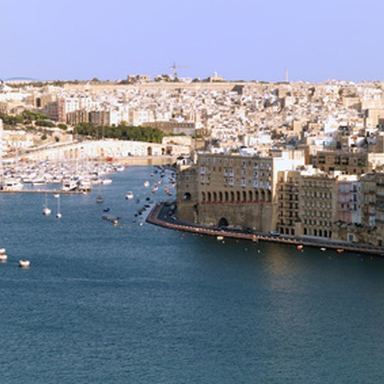 Fort Ricasoli is situated near Valletta, Malta