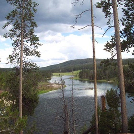 Yellowstone National Park features several outdoor adventures.