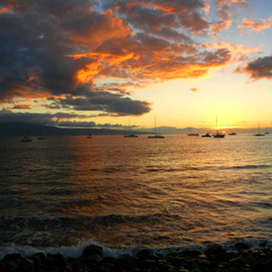 Maui's sparkling waters are ideal for fishing.
