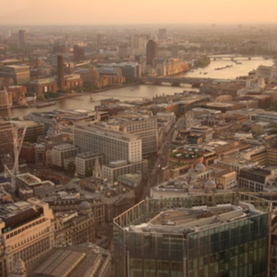 The city of London is one of the most popular travel destinations in the world.