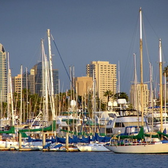 On water or land, there are plenty of activities to do in the San Diego Bay area.