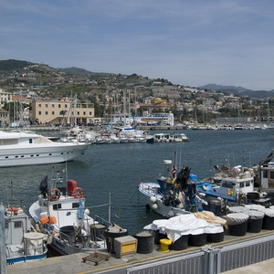 San Remo has been a popular destination on the Italian Riviera for several centuries.