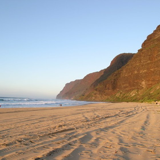 Kauai's beaches are one of the island's many family-friendly attractions.