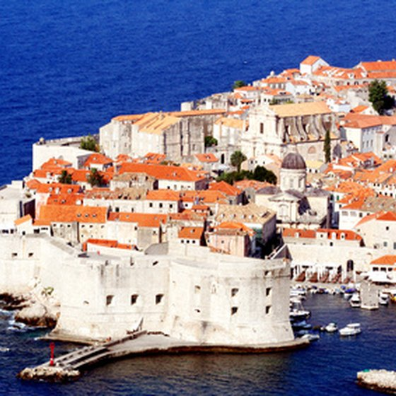 Scenic Dubrovnik figures into many Croatian sailing trips.