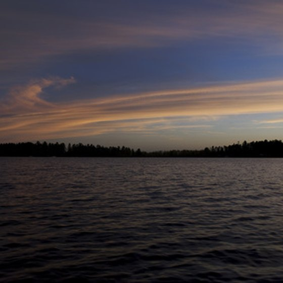 Northern Wisconsin is noted for its many lakes.