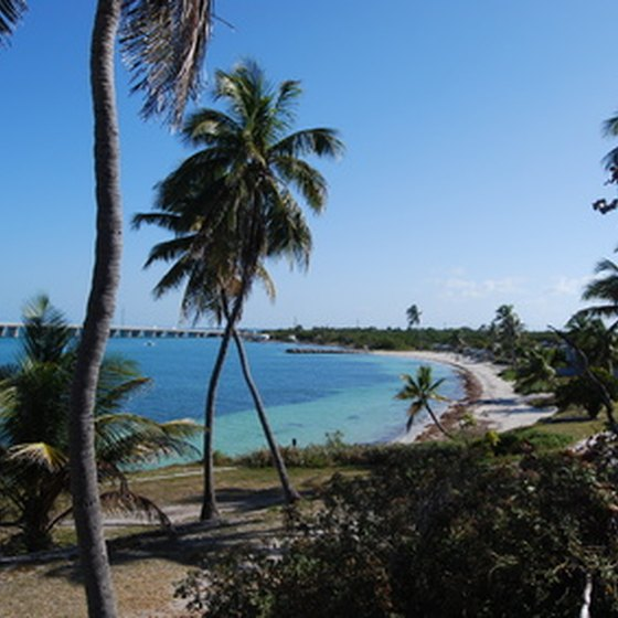 Several upscale Key West resorts feature private beaches.