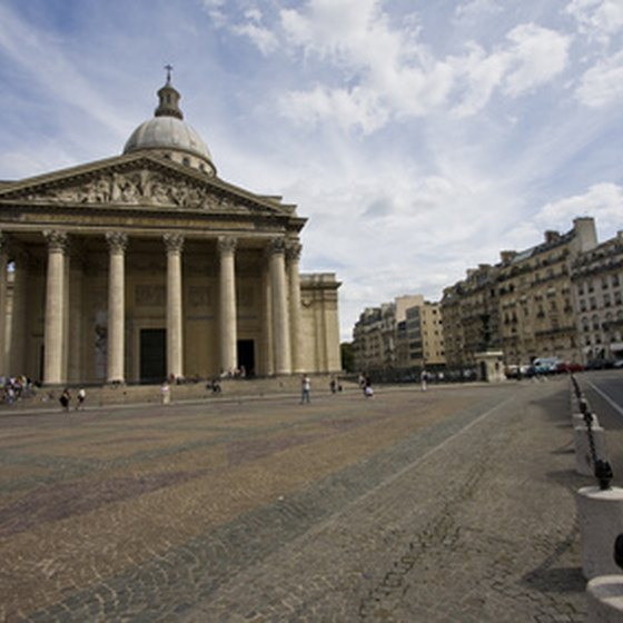 The Panthéon is one of the Latin Quarter's crowning features.
