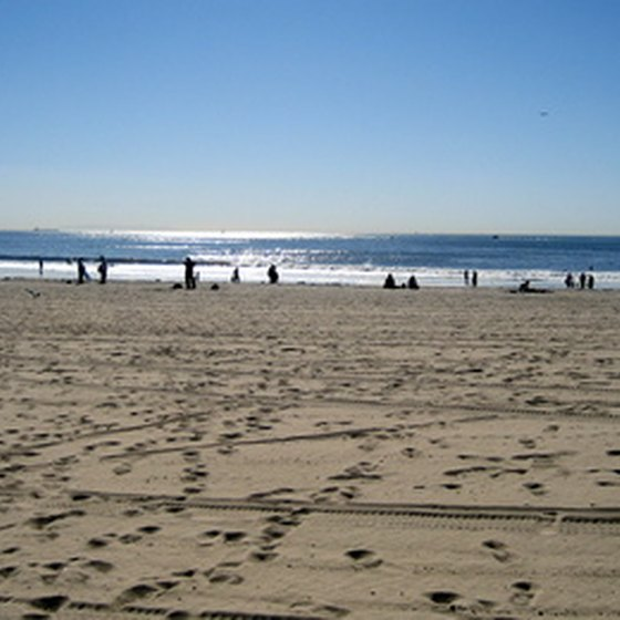 Southern California beaches are ideal for RV camping.