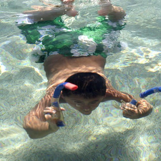 Kids can learn a lot while snorkeling.