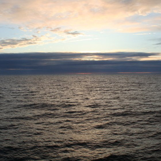 View of the Atlantic Ocean
