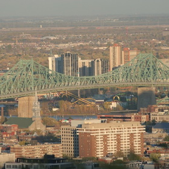Many family resorts are located in the heart of Montreal.