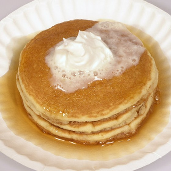 From pancakes to shrimp dishes to bologna and eggs, there are unique breakfast dishes at restaurants around Exeter, New Hampshire.