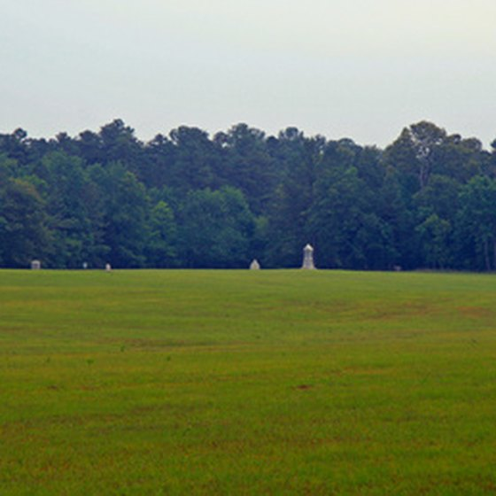 Visit battlefields and monuments on a U.S. historical vacation.