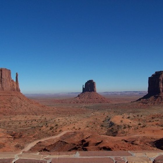 Buttes of Monument Valley