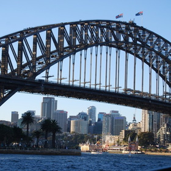 Sydney is a highlight on many cruises to Australia.