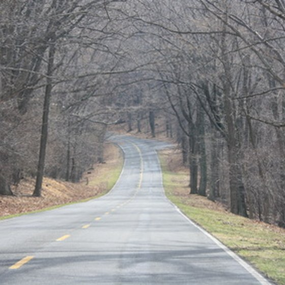 Skyline Drive is a 115-mile-long National Scenic Byway.