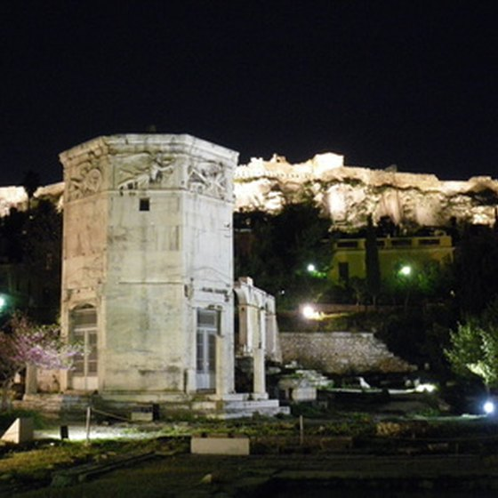 Many tours of Greece, Turkey and Israel begin and end in Athens.
