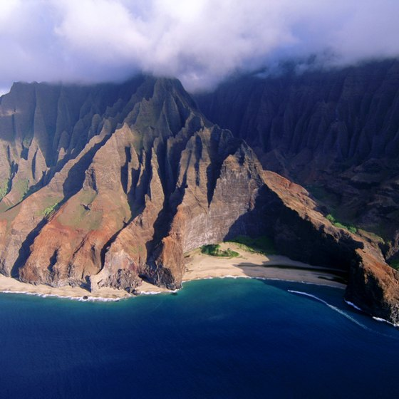 Kauai's stunning beauty is the result of millions of years of erosion.