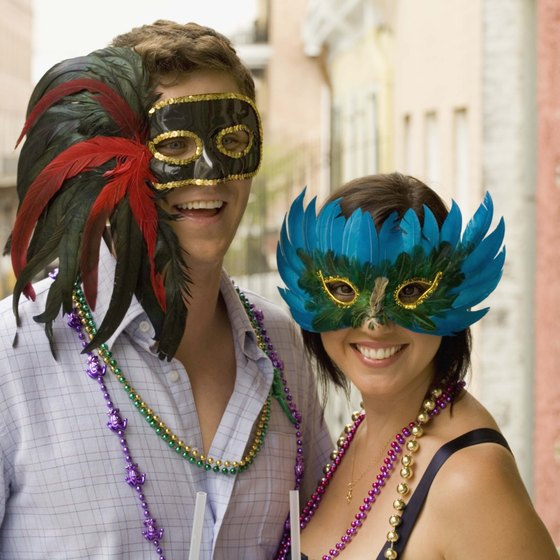New Orleans draws tourists from around the world, especially during Marti Gras.