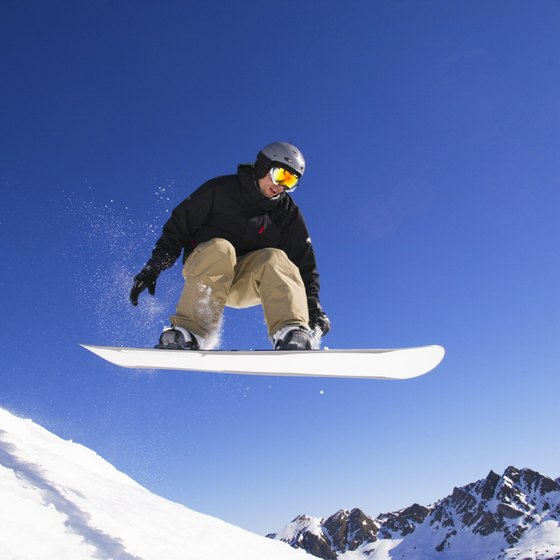Snowboarders will find plenty of space to practice their skills near Philly.
