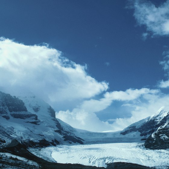 Several campgrounds offer great views and access to Athabasca Glacier.