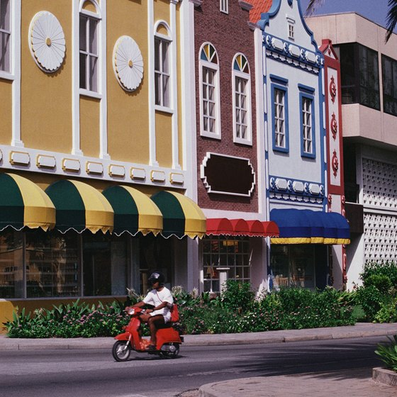 You can explore the streets of Oranjestad, Aruba's capital city.