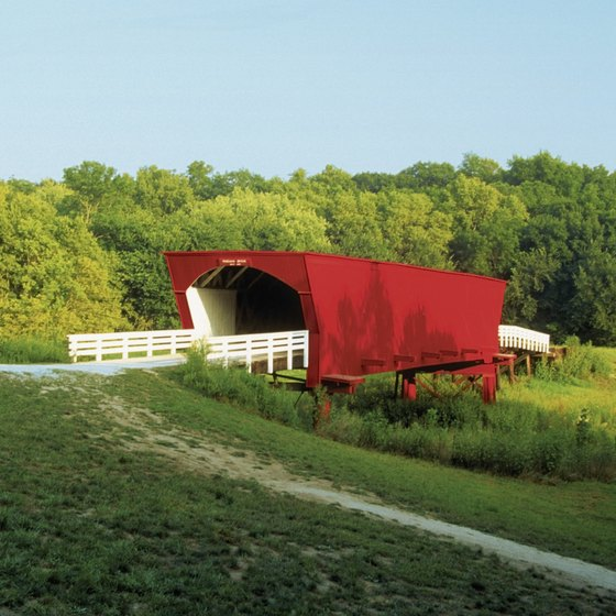 The covered bridges are Madison County's best-known tourist attraction.