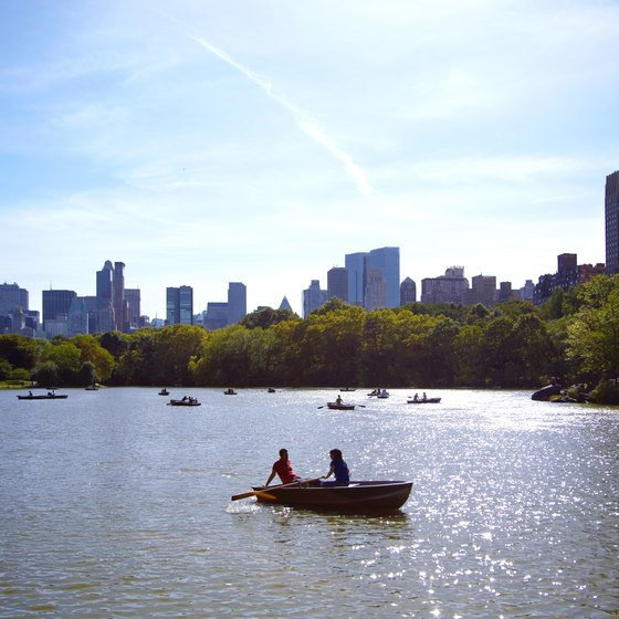 Central Park in New York City draws many tour groups visiting the Big Apple.