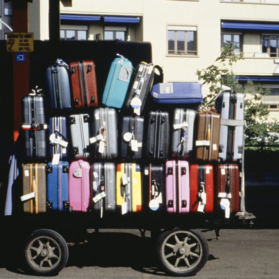 Modern suitcases come in all shapes, sizes and textures.